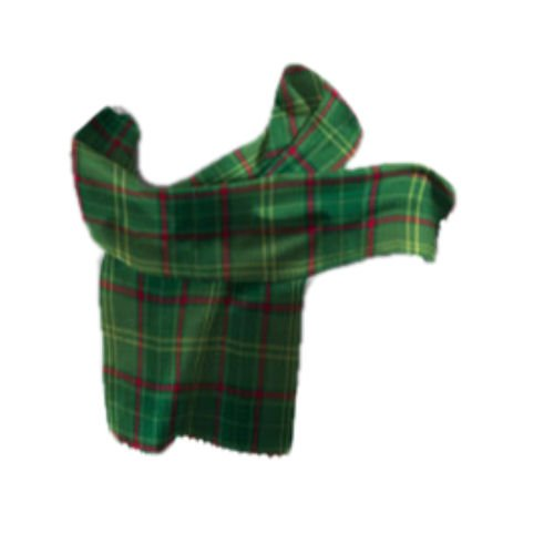 Image 1 of Armagh County Irish Tartan Lambswool Unisex Fringed Scarf