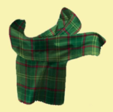 Image 0 of Armagh County Irish Tartan Lambswool Unisex Fringed Scarf