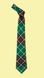 Newfoundland Canadian Tartan Lightweight Wool Straight Mens Neck Tie