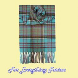 Anderson Ancient Tartan Cashmere Fringed Scarf