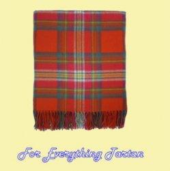 Appletreehall Check Tartan Lambswool Blanket Throw