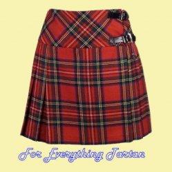 Billie Ladies Mini Skirt Wool Tartan Womens Lightweight Pleated Kilt