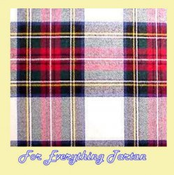 Stewart Dress Modern Tartan Brushed Cotton Plaid Fabric x 1 metre