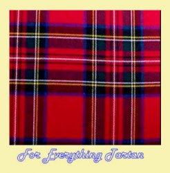 Stewart Royal Modern Tartan Brushed Cotton Plaid Fabric x 1 metre
