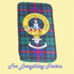 Clan Crest Tartan Badge Black Blackberry Bold 9900 Cover Clan Badge Cover