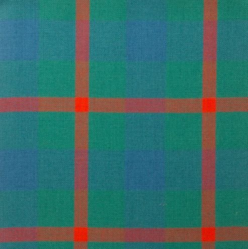 Image 1 of Agnew Ancient Lightweight 10oz Wool Tartan Fabric Swatch