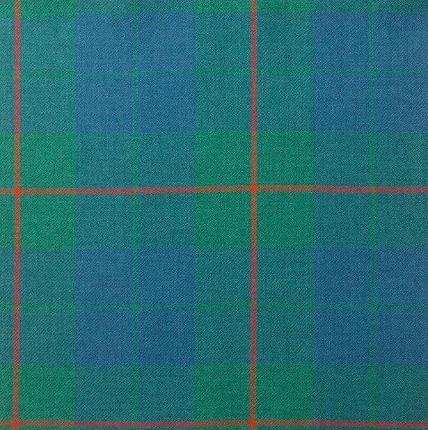 Image 1 of Barclay Hunting Ancient Lightweight Reiver 10oz Tartan Wool Fabric