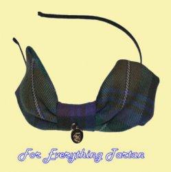 Isle Of Skye Tartan Lightweight Fabric Bow Hair Band Headband