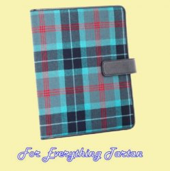 Lochness Tartan Lightweight Fabric Tablet Ipad Cover