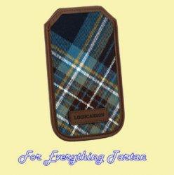 Holyrood Modern Tartan Fabric Leather Mobile Phone Case Protector