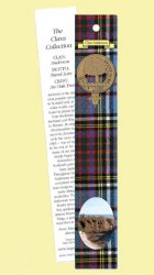 Anderson Clan Tartan Anderson History Bookmarks Pack of 10