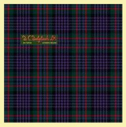 Abbotsford Modern Single Width 4oz Tartan Pure Silk Fabric