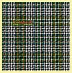 Abbotsford Ancient Check Single Width 4oz Tartan Pure Silk Fabric