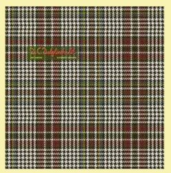 Abbotsford Reproduction Check Single Width 4oz Tartan Pure Silk Fabric
