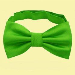 Apple Green Boys Ages 1-7 Wedding Boys Neck Bow Tie