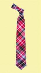 Aberdeen District Tartan Lightweight Wool Straight Mens Neck Tie