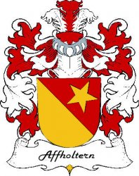 Affholtern Swiss Coat of Arms Large Print Affholtern Swiss Family Crest