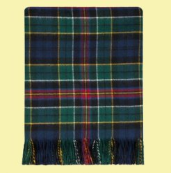 Allison Modern Tartan Lambswool Luxury Ladies Serape