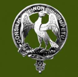 Agnew Clan Cap Crest Stylish Pewter Clan Agnew Badge