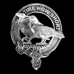 Akins Clan Cap Crest Sterling Silver Clan Akins Badge