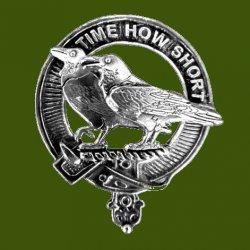 Akins Clan Cap Crest Stylish Pewter Clan Akins Badge