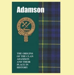 Adamson Clan Badge History Scottish Family Name Origins Mini Book