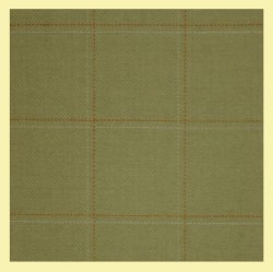 Heriot Check Lightweight Reiver 10oz Tweed Wool Fabric