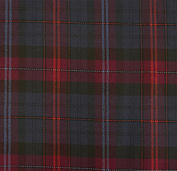 Image 1 of Evans Bevan Welsh Tartan 13oz Wool Fabric Medium Weight Ladies Mini Skirt