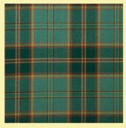 All Ireland Green Tartan 10oz Reiver Wool Fabric Lightweight Casual Mens Kilt