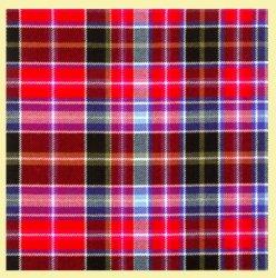 Aberdeen District Tartan 10oz Reiver Wool Fabric Lightweight Casual Mens Kilt
