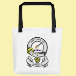 Your Clan Badge Clan Crest Double Sided Polyester Custom Tote Bag