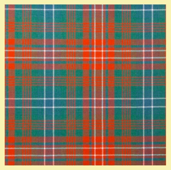 Image 0 of Wilson Ancient Tartan 13oz Braeriach Wool Fabric Mediumweight Formal Mens Kilt