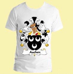 Aachen German Coat of Arms Surname Adult Unisex Cotton T-Shirt