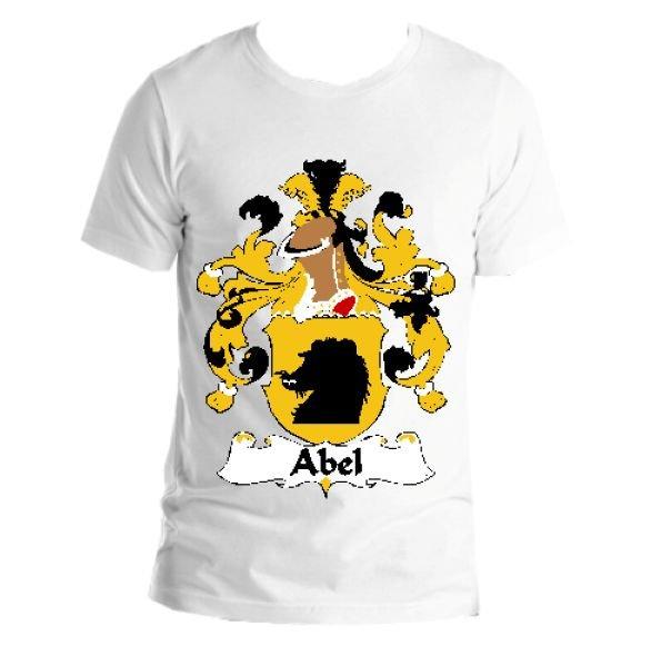 Image 1 of Abel German Coat of Arms Surname Adult Unisex Cotton T-Shirt