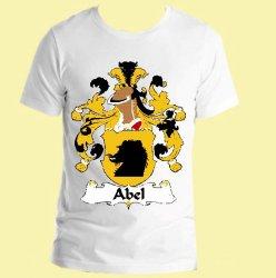 Abel German Coat of Arms Surname Adult Unisex Cotton T-Shirt