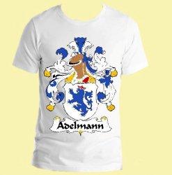 Adelmann German Coat of Arms Surname Adult Unisex Cotton T-Shirt