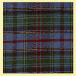 County Of Powys Welsh Tartan 13oz Wool Fabric Medium Weight Ladies Mini Skirt
