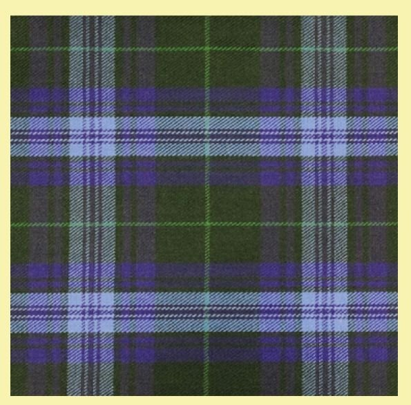 Image 0 of Jones John Welsh Tartan 13oz Wool Fabric Medium Weight Ladies Kilt Skirt