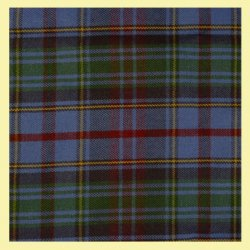 County Of Powys Welsh Tartan 13oz Wool Fabric Medium Weight Ladies Pleated Skirt