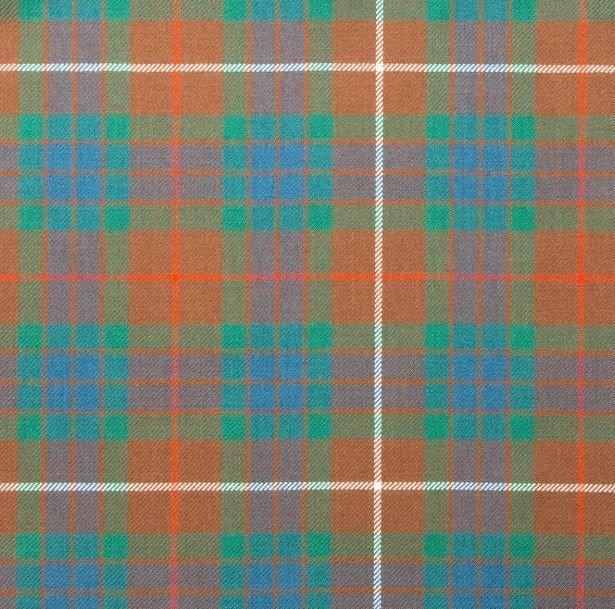 Image 1 of Fraser Hunting Ancient Springweight 8oz Tartan Wool Fabric