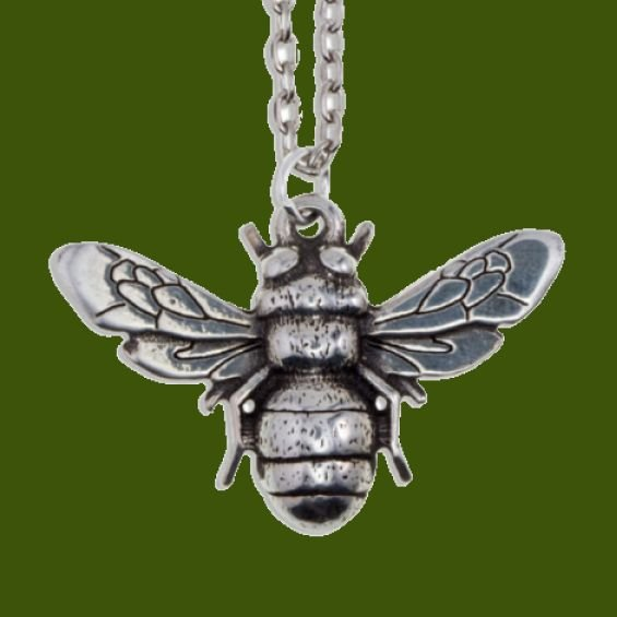 Image 0 of Bee Insect Themed Child Stylish Pewter Pendant
