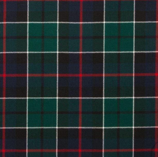 Image 1 of Leslie Hunting Modern Springweight 8oz Tartan Wool Fabric
