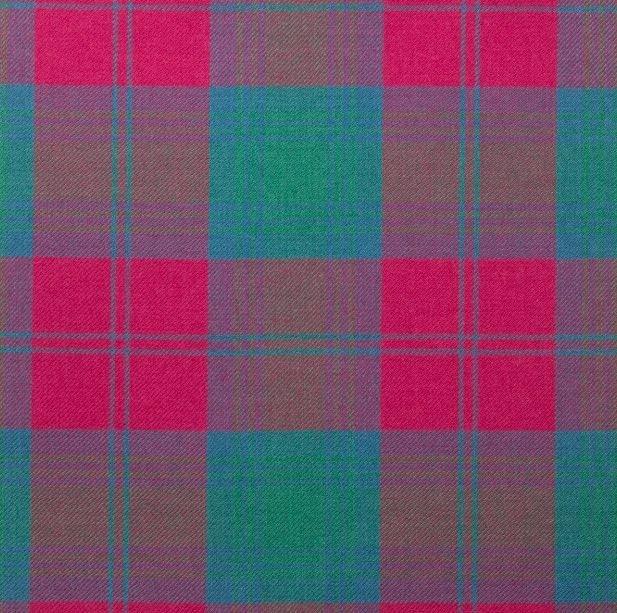 Image 1 of Lindsay Ancient Springweight 8oz Tartan Wool Fabric