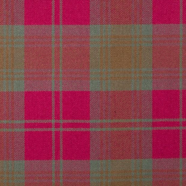 Image 1 of Lindsay Weathered Springweight 8oz Tartan Wool Fabric