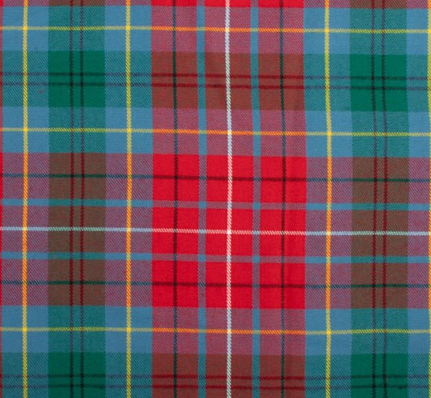 Image 1 of British Columbia Canadian Springweight 8oz Tartan Wool Fabric