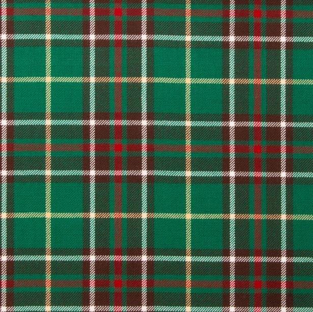Image 1 of Newfoundland Canadian Springweight 8oz Tartan Wool Fabric