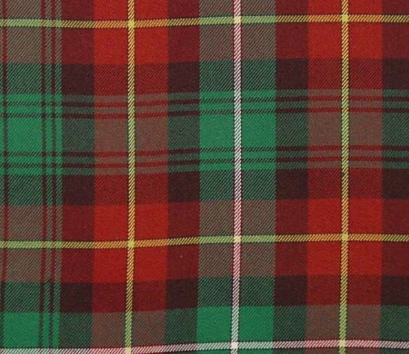 Image 1 of Prince Edward Island Canadian Springweight 8oz Tartan Wool Fabric