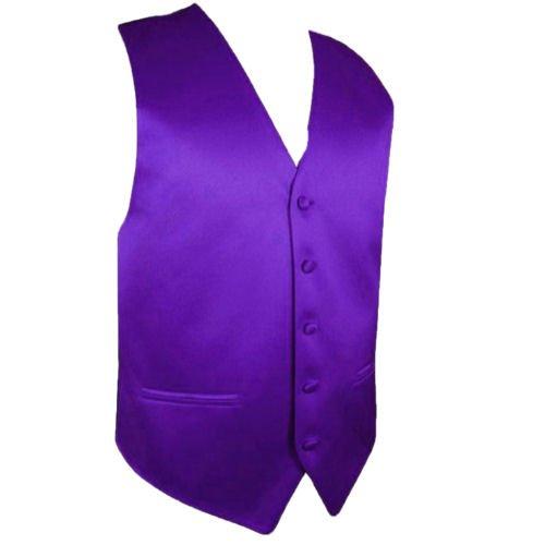 Image 1 of Cadbury Purple Formal Ages 7-12 Boys Wedding Vest Boys Waistcoat