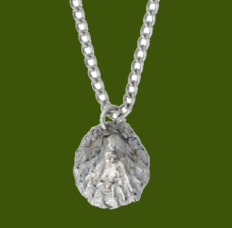 Image 0 of Limpet Shell Marine Themed Small Stylish Pewter Pendant