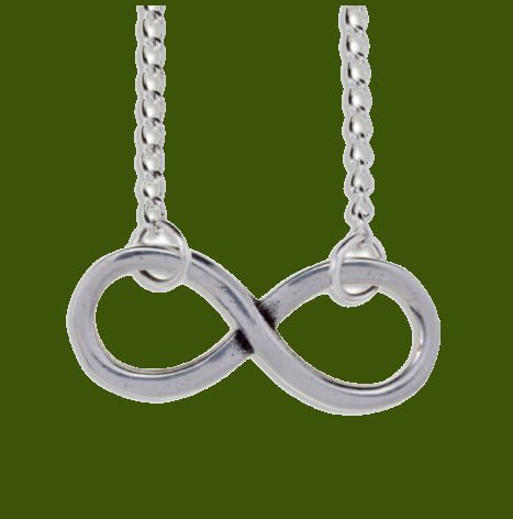 Image 0 of Infinity Knot Polished Stylish Pewter Pendant